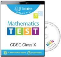 Tupoints Cbse Class 10 Maths Offline Test(DVD)