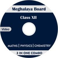 AVNS INDIA Meghalaya Board Class 12 - Combo Pack - Physics, Chemistry and Maths Full Syllabus Teaching Video (DVD)(DVD)