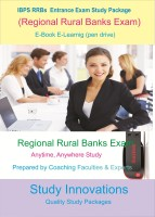 Study Innovations IBPS RRBs (Regional Rural Banks) Exam Study Package(Pendrive)