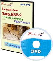 Practice guru Tally.ERP 9 Financial Accounting Video Tutorial(CD)