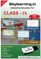 Skylearning.In CBSE Class 9 Combo Pack (English, Maths, Science, Computer, Let