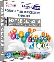 Practice guru NSTSE Class 4(CD)