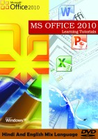 LSOIT MICROSOFT OFFICE 2010 -WORD EXCEL POWERPOINT WINDOWS BASICS, INTERNET AND EMAILS IN HINDI AND ENGLISH MIX LANGUIAGE(DVD) - PRICE 500 37 % OFF   - EDUCRATSWEB.COM