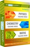 BigScoreAcademy.com Tamil Nadu Samacheer Kalvi Class 12 Combo Pack - Physics, Chemistry and Maths Full Syllabus Teaching Video(DVD)