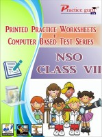 Practice guru Worksheets & Test Series for NSO Class 7(CD)