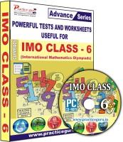Practice guru IMO Class 6(CD)
