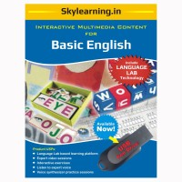Skylearning.In Basic English (Pen Drive)(Basic English Pendrive Combo Pack)