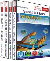Practice Guru Powerful Test Series (IMO / NSO / IEO / NCO) Medium English (Class - 7) (Combo Pack)