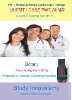 Study Innovations PMT/AIPMT/AIIMS/Medical Entrance Exams Botany Study Material(Pendrive)