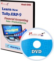 Practice guru Tally ERP 9 Financial Accounting Notes + Practical Exercise(CD)