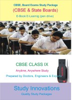 Study Innovations CBSE class IX Study Material(Pendrive)