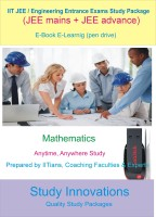 Study Innovations Iit Jee / Engineering Entrance Exam Mathematics Study Material(Pendrive)