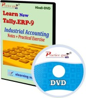 Practice guru Tally ERP 9 Industrial Accounting Notes + Practical Exercise(CD)