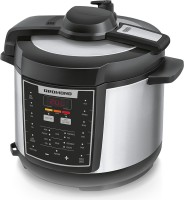 REDMOND RMC-M110E Rice Cooker, Food Steamer, Slow Cooker, Egg Cooker, Deep Fryer, Egg Boiler(5 L, Black, Metallic)