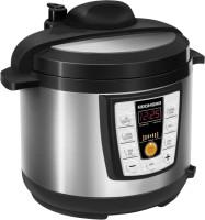 REDMOND RMC-PM4506E, Digital pressure smart multicooker Rice Cooker, Deep Fryer, Slow Cooker, Food Steamer(5 L, Black)