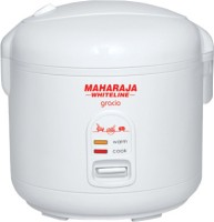 Maharaja Whiteline Gracio RC - 104 Electric Rice Cooker(1.8 L, White)