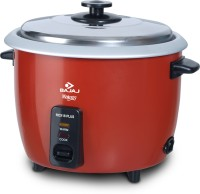 BAJAJ Majesty Electric Rice Cooker with Steaming Feature(1.8 L, Red)