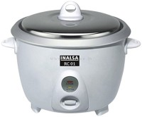 Inalsa RC01 Electric Rice Cooker(1.8 L, White)