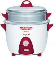 Maharaja Whiteline Inicio Plus Multi Electric Rice Cooker(1.8 L, Red, White)