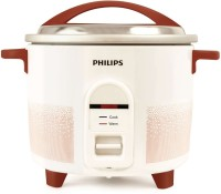 Philips HL1665/00 Electric Rice Cooker(1.8 L, Red, White)