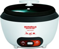 MAHARAJA WHITELINE Cool Touch Electric Rice Cooker(1.8 L, White)