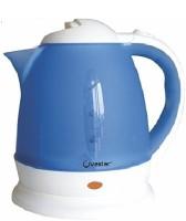Ovastar OWEK-105 Electric Kettle(1.5 L, Blue & White)