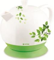 VITEK VT-1171 W-I Electric Kettle(1.3 L, White:Green)