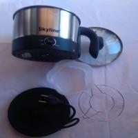 Skyline VI 7070 Electric Kettle(1.2 L, BlackIISilver)