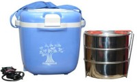 NAYASA 900 ml 3  Compartments(Conduction Heat  Lunch Box)