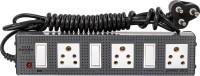 View Girish Victor Power Strip 3x3 3 Socket Surge Protector(Grey) Laptop Accessories Price Online(Girish)