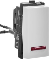 Girish VOX 6 One Way Electrical Switch(Pack of 10 Number of Switches - 1)