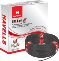 Havells PVC Black 90 m Wire(Black)