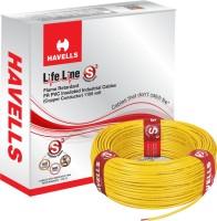 Havells FR PVC, PVC 2.5 sq/mm Yellow 90 m Wire(Yellow)
