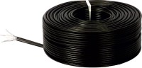 MX CCTV WIRE CABLE 3+1 FullCopper RT-3 100Meters Black 100 m Wire(Black)