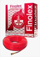 Finolex FR PVC, PVC 1.5 sq/mm Red 90 m Wire(Red)