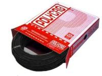 Polycab FR PVC, PVC 4 sq/mm Black 90 m Wire(Black)