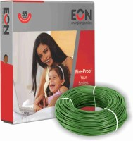 EON FR PVC 1.5 sq/mm Green 90 m Wire(Green)