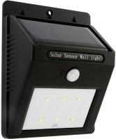 View GLiT 6 LED Motion Sensor Solar Lights(Black) Home Appliances Price Online(GLiT)