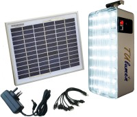 View Technology Uncorked Solar Mobile Charger With LED Emergency Lights(White) Home Appliances Price Online(Technology Uncorked)