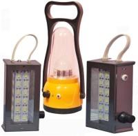 View Mobizon 1 LAL 2 SMD Emergency Lights(Yellow, Black) Home Appliances Price Online(Mobizon)