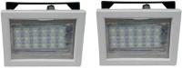 View Vimarsh Rechargeable Square 18 LED Bulbs - set of 2 Emergency Lights(White, Black) Home Appliances Price Online(Vimarsh)