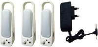 View Grind Sapphire charger with 113-3set Emergency Lights(White) Home Appliances Price Online(Grind Sapphire)