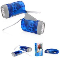 View Big Impex hand pressing flash light Emergency Lights(Blue) Home Appliances Price Online(Big Impex)