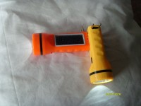 View Solar Universe India LED rechargeable Torch Solar Lights(Orange) Home Appliances Price Online(Solar Universe India)