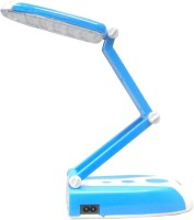 View Insasta 31 Led Folding Rechargeable Study Lamp Emergency Lights(Blue & White) Home Appliances Price Online(Insasta)