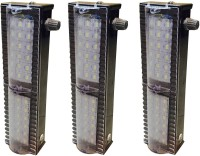 View Grind Sapphire gs-55 3 Set Emergency Lights(Silver) Home Appliances Price Online(Grind Sapphire)