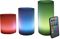 View Aero Wax LED Candle Emergency Lights(Multicolor)  Price Online