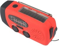 View Singtronics Solar USB & Hand Dynamo Crank rechargable with FM and Powerbank 3 LED Solar Lights(Red) Home Appliances Price Online(Singtronics)