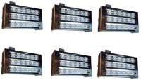 View Grind Sapphire set of 6 -LED 12wt Emergency Lights(White) Home Appliances Price Online(Grind Sapphire)
