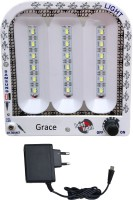 View Grace Fashion Villa 18 SMD With Charger Emergency Lights(White) Home Appliances Price Online(Grace Fashion Villa)